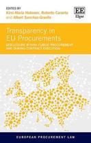 Transparency in Eu Procurements
