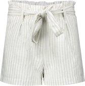 Geisha Meisjes korte broeken Geisha  Shorts striped with strap wit 140