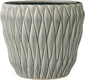 Bloomingville - Bloempot - Stoneware - Winter Mint