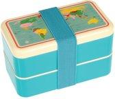 Rex London Bento Box XL Wereldkaart