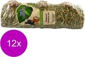 Vitakraft Vita Verde Hooitunnel Small - Knaagdiersnack - 12 x 120 g