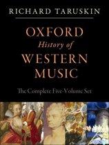 Oxford History of Western Music: 5-vol. set: 5-vol. set