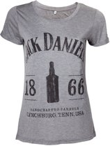 JACK DANIEL'S - T-Shirt 1866 Grey GIRL (L)