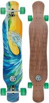 Osprey Longboard Wave 117 X 23 Cm Geel/blauw