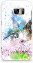 Samsung Galaxy S7 Hardcase Hoesje Design Vogel