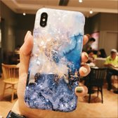 Iphone XR Deluxe Silicone Marmer Case - Great Reef