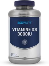 Body & Fit Vitamine D3 - 3000 IU - 180 capsules