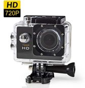 Nedis Actioncam   HD 720p   Waterdichte behuizing