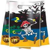 Piraten feestzakjes /6 stuks