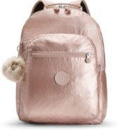 Kipling Seoul Baby Backpack Luiertas - Met Verschoningsmatje - Metallic Blush