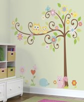 RoomMates Muursticker Mega vrolijke Dierenboom