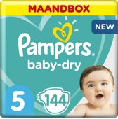 Pampers Baby-Dry - Maat 5 (Junior) 11-16 kg - Maan