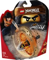LEGO NINJAGO Spinjitzumeester Cole - 70637