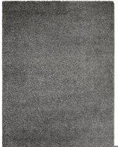 Hoogpolig tapijt grijs 30 mm - 200 x 290 cm