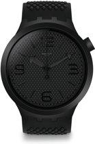 Swatch Big Bold Black Horloge  - Zwart