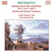 Beethoven: Cello Sonatas Op 5, etc / Onczay, Jando