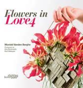 Flowers in love 4 - Boek - Engelstalig - Hobby - 23 x 23 x 1,5 cm