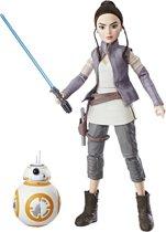 Star Wars Forces of Destiny Rey en BB-8 - 28 cm - Speelfiguur