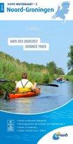 ANWB waterkaart 2 - Noord-Groningen 2019