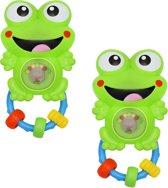 Rammelaars - voor baby - set van 2 stuks - babyspeelgoed