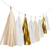 1 Tassel Garland - Gold Brush