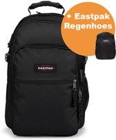 Eastpak Tutor Rugzak Black + Regenhoes Eastpak