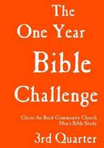 One Year Bible Challenge, 3rd Quarter