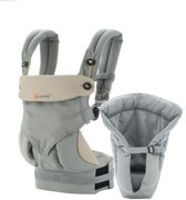 Ergobaby Bundle of Joy 360 Grey - Geboortepakket, Draagzak