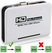 HDMI naar VGA & Audio HDTV Converterwit