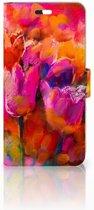 Huawei P10 Plus Boekhoesje Design Tulips