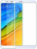 Voorzijde buitenste glazen lens voor Xiaomi Redmi 5 Plus (wit)