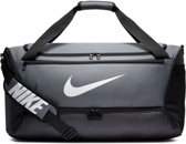 Nike  Brsla M  Duff - 9.0 Unisex Sporttas - Flint Grey/Black/(White) - Maat OSFA