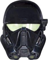 Star Wars Imperial Death Trooper masker met stemvervormer