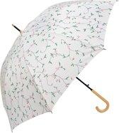 Paraplu ø 93*90 cm Wit   MLUM0028   Clayre & Eef