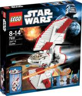 LEGO Star Wars T-6 Jedi Shuttle - 7931