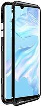 Teleplus Huawei P30 Pro Metal Frame Magnet 360 Cover Case Black hoesje