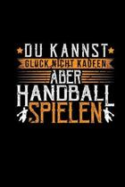 Handball Spielen: Notizheft Punktraster A5 - Handballer Handballspieler Damen Herren Geschenke Witzig