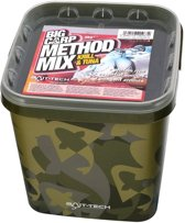 Bait Tech - Camo Bucket - Big Carp Method Mix - Krill & Tuna - 3 KG