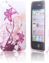 iPhone 4 en 4S Hard Case Hoesje - Mystic Flower