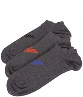 Emporio Armani Sock Set Footie - Grey-39-42