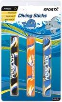 SportX Neoprene Diving Sticks 3 Stuks