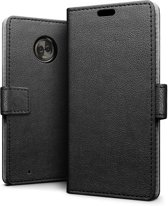 Knaldeals.com - Motorola Moto G6 Plus hoesje - Book Wallet Case - zwart