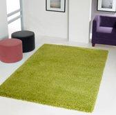 Hoogpolig tapijt groen 30 mm - 160 x 230 cm
