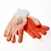 handschoen latex ROOD prevent (1 paar)