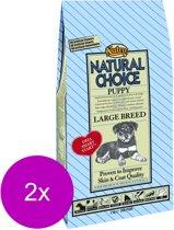 Nutro Puppy Large Kip & Rijst Hondenvoer - Grote Pup - 2 St à 2 kg