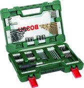 Bosch V-Line borenset - 91-delig - Titanium Plus Serie - Voor hout, metaal en steen