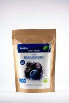 Biokia biologische bessen poeder mix blauw