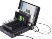 VOLTCRAFT PS-10 PS-10 USB-laadstation Thuis Uitgangsstroom (max.) 13200 mA 10 x USB Automatische detectie