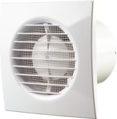 Vents Ventilator met timer - 85 m³/h x ø 100 mm - Wit