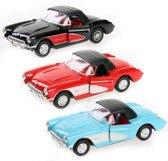 Speelgoedauto Chevrolet Corvette 1957  zwart